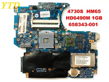 Original for HP 4730S laptop motherboard 4730S  HM65  HD6490M 1GB  658343-001  6050A2465501-MB-A02 tested good free shipping