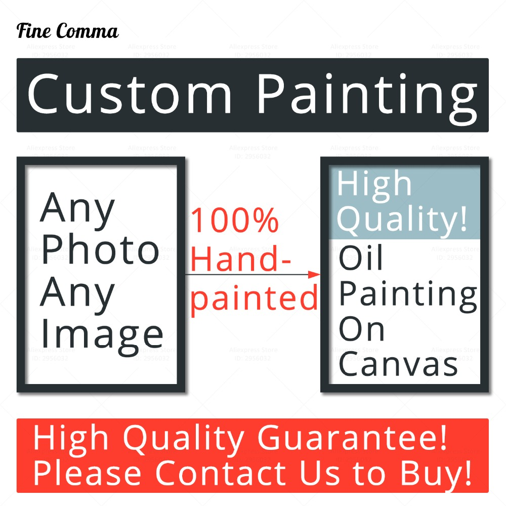 Canvas Oil Painting Custom Art Commission Hand Painted Handmade Wall Painting for Living Room Abstract Wall Art Pictures Bedroom