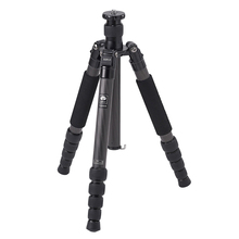 SIRUI T-2205X Carbon Fiber Professional Tripod Kit Portable Photography Bracket Stable Camera Support For Canon Nikon Sony SLR