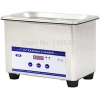 1pc 110V 220V 0 8L Digital Small Ultrasonic Cleaner Bath JP 008 Free Shipping By DHL
