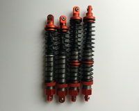 CNC 6mm metal front and rear Shock Absorber Set for 1/5 hpi baja 5b rc car parts