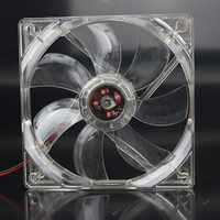 5 pçs/lote GDT 12025 V 4 12 P DC Luz Azul 120 MILÍMETROS 12 CM 120 MM x 120 MM x 25mm PC Comptuer LED Ventilador De Refrigeração Do Processador