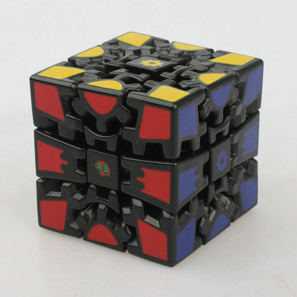Brand New Linghui Stickerless 60mm 3x3x3 Gear Magic Cube V2 Speed Puzzle Cubes Children Kids Educational Toys
