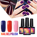 Belle Fille 237 Colors Nail Gel Polish Professional UV Gel Nail Polish UV LED Manicure Gel Nail Varnish Blue Purple Nail Polish