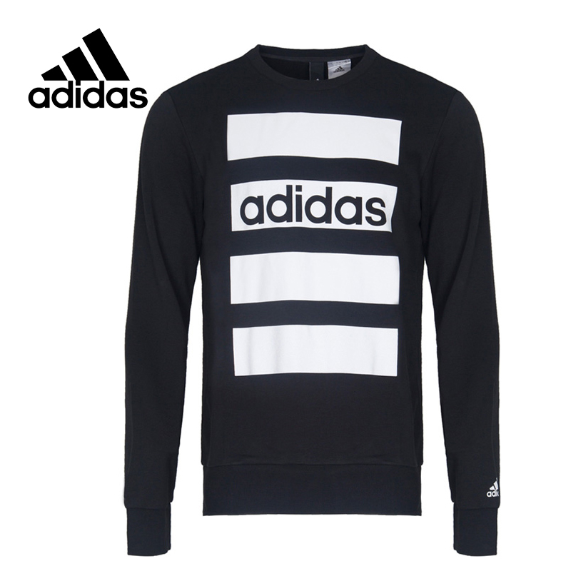 Original New Arrival Official Adidas SA SWT LNR Men's Pullover Jerseys Cotton Sportswear adidas original new arrival official originals women s hooded pullover jerseys trainning sportswear ay8388 ay8386
