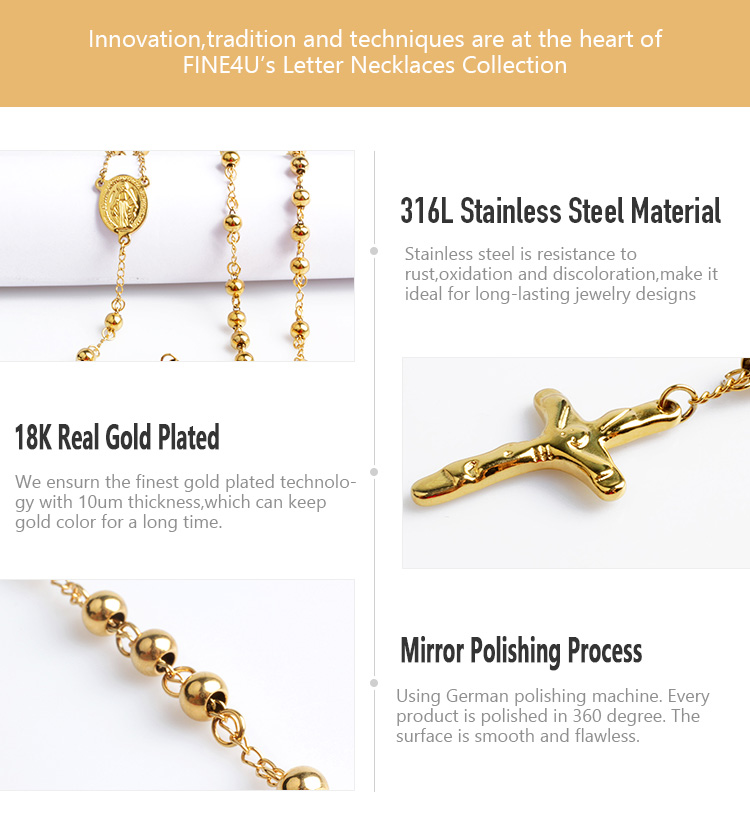 Beads Necklace Religious