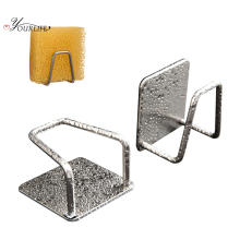 OYOURLIFE Kitchen Stainless Steel Sink Sponges Holder Sponges Soap Drainage Storage Rack Kitchen Bathroom Sundries Organizers