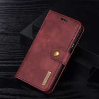 A3 A5 A7 J3 J5 J7 2017 Luxury Genuine Leather Wallet Phone Cases For Samsung Galaxy