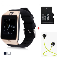 DZ11 Bluetooth Smart Watch Support SIM TF Card pk dz09 for Android Samsung phone Smart