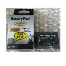 NP-FP50 NPFP50 NP FP50 NP-FP51 lithium batteries pack NP FP51 Digital camera Battery NP FP50 For SONY DCR-HC19 HC30 HC40 HC46