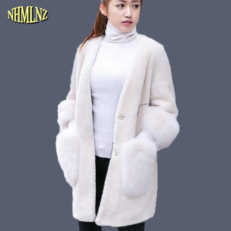 Veste style mouton femme