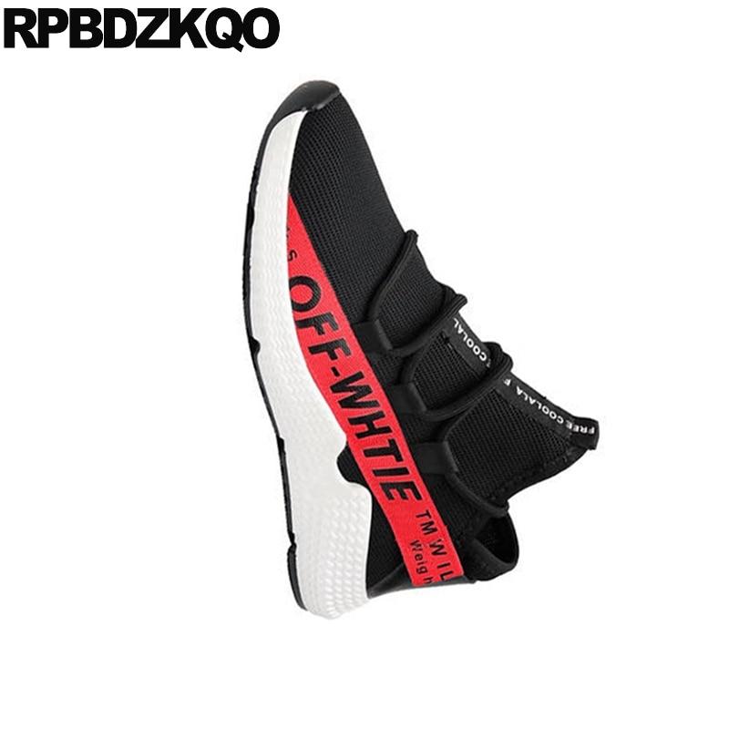 Skate White Homens Street De Lace Up Preto Yellow black Casual Tênis Formadores Alta Qualidade Verão black Black Red 2018 Respirável Borracha Style Conforto Designer Sapatos qF44Rx5f