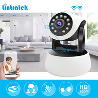 Lintratek New Model Dual Antennas Ip Camera Wi Fi Hd 720P 1 0MP Surveillance Camera Mini