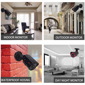 Image 2 - Security camera cctv security system kit video surveillance 2 camera HD 720P/1080P 4ch dvr surveillance Waterproof Night Vision