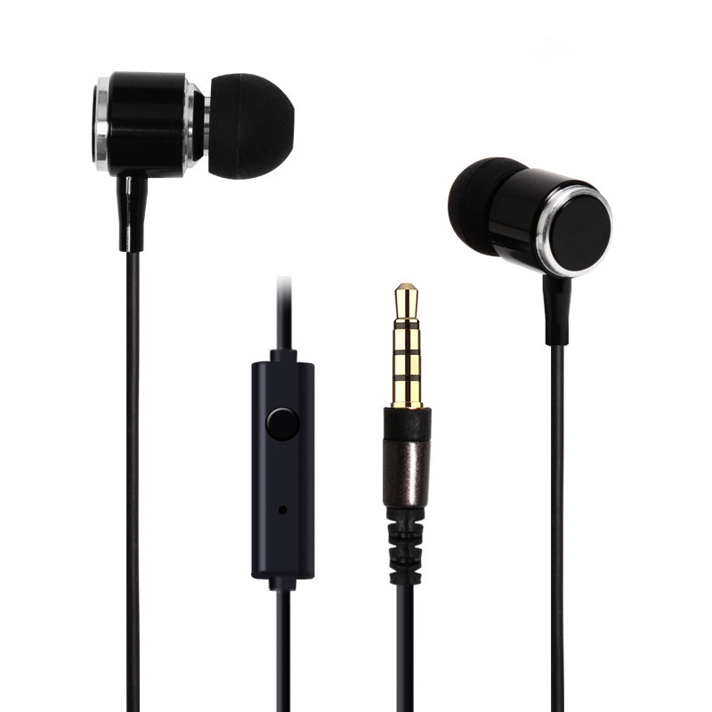 High Quality Stereo Bass Earphone Handsfree Metal Headset 3.5mm Music MIC Earbuds for IPhone Samsung LG Sony MP3 all Phone PC vintage retro antique brass double cross handles swivel spout kitchen bathroom tub sink faucet mixer water taps asf006