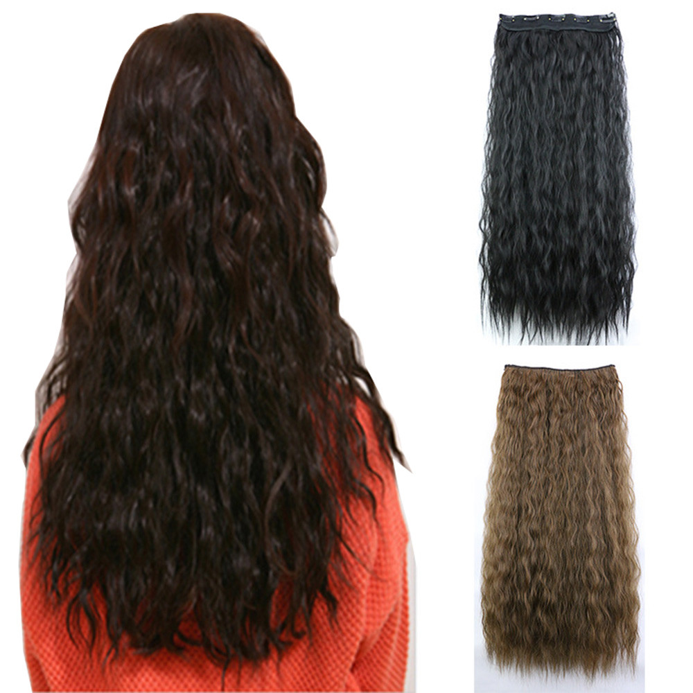 Wavy Curly Long Hair wigs for women Full Wigs Party Cosplay curly hair wigs front lace S ...