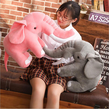 Grey Pink Lovely Elephant Plush Toys Stuffed Animal Doll Toy Soft Plush Pillow Baby Sleeping Doll Children Gift new lovely plush gray elephant toy creative elephant doll boyfriend pillow doll about 120cm