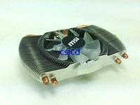 New Original HD5870 HD6850 Graphics Card Cooling Fan 4 Heat Pipe Radiator Cards Radiator Universal 53MM