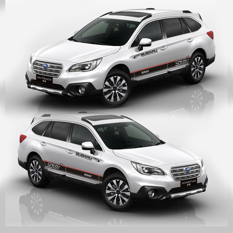 TAIYAO car styling sport car sticker For Subaru Outback Mark Levinson car accessories and decals auto sticker