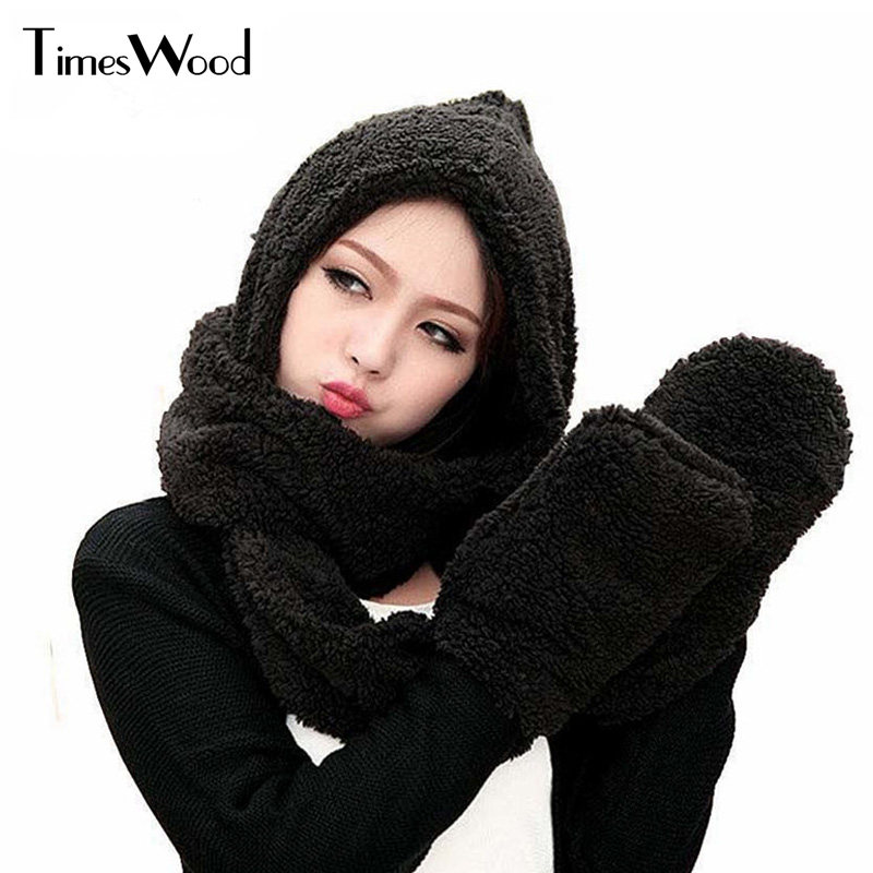 Beautiful Hats Sets With Scarf Gloves Winter Keep Warm Women Casual Lovely  Girl Cotton Caps on Aliexpress.com  f0b0dce35e38