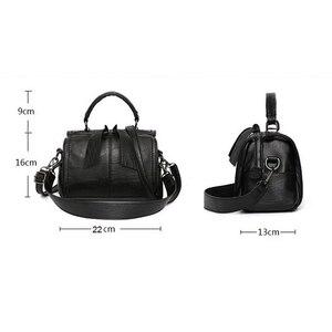Image 5 - FUNMARDI Soft PU Leather Handbag Women Shoulder Bag High Quality Crossbody Bags Fashion Boston Pillow Ladies Bag Totes WLHB1976