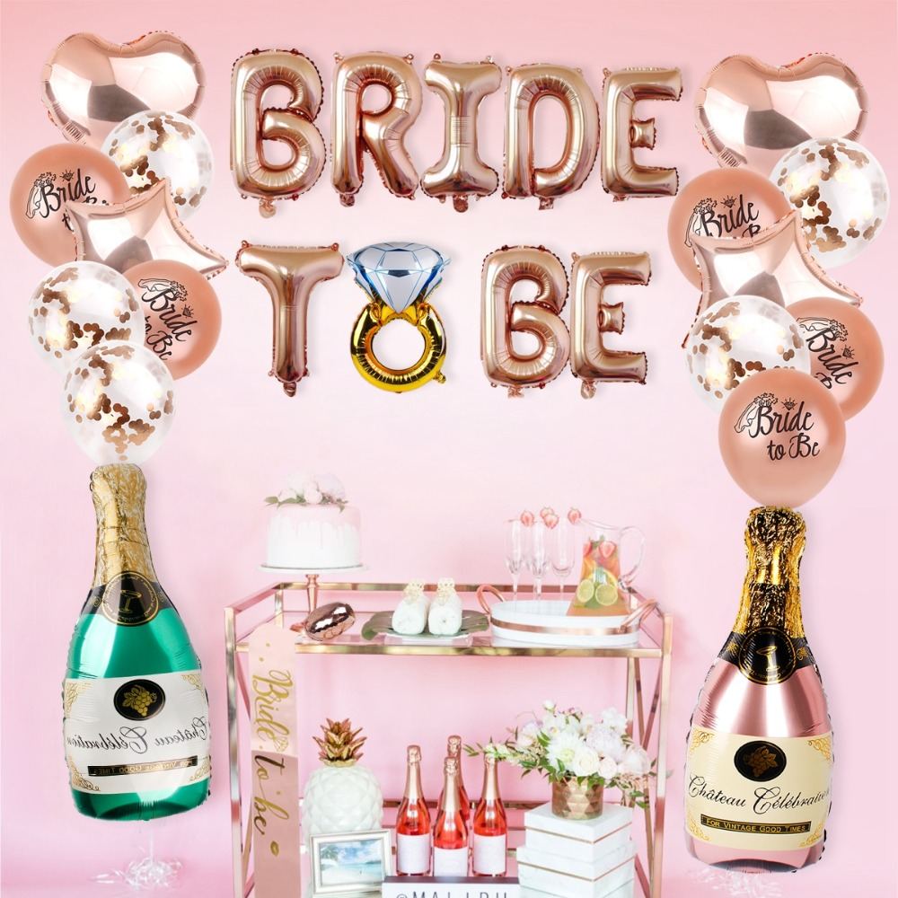 4f8265e01b QIFU Team Bride To Be Hen Party Wedding Decoration Bridal Shower ...