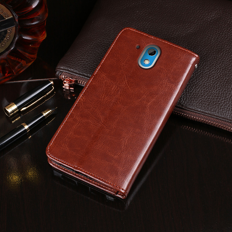 Flip Leather book Case For HTC Desire 526G+ Back Cover shockproof phone Case For HTC Desire 526G+ cover shell image