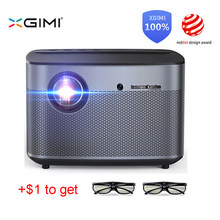 Xgimi H2 DLP Proyektor 1080 P Full HD Shutter 3D 4K Video Proyektor Android TV Bluetooth WIFI Home Theater motion Kompensasi(China)