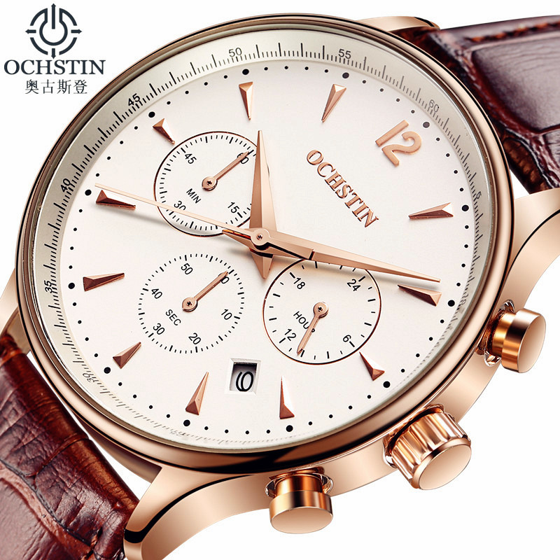 OCHSTIN Relojes de lujo para hombres Reloj de cuarzo para hombres - Relojes para hombres - foto 6