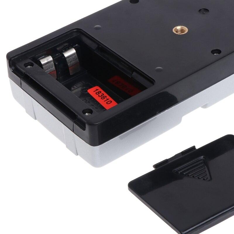 Détecteur de récepteur Laser à ligne croisée Compatible avec faisceau rouge 635nm avec pince