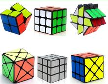 6PCS per Set IQ Magic Cube Puzzles Classic 3D Brain Teaser Game Toys for Adults Children