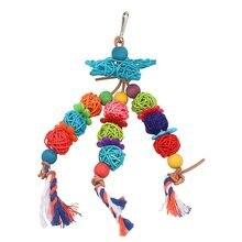 Pipipifren papagaio de brinquedos e acessórios, suprimentos para pássaros, perfil balanço para parakeet, produto decoração, vogel