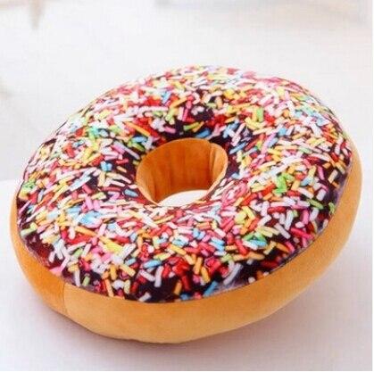 a578f9a0f04e2b 40 cm Leuke simulatie Donuts Kussen katoen Kussen cadeaus voor vrienden in 40  cm Leuke simulatie Donuts Kussen katoen Kussen cadeaus voor vrienden van ...