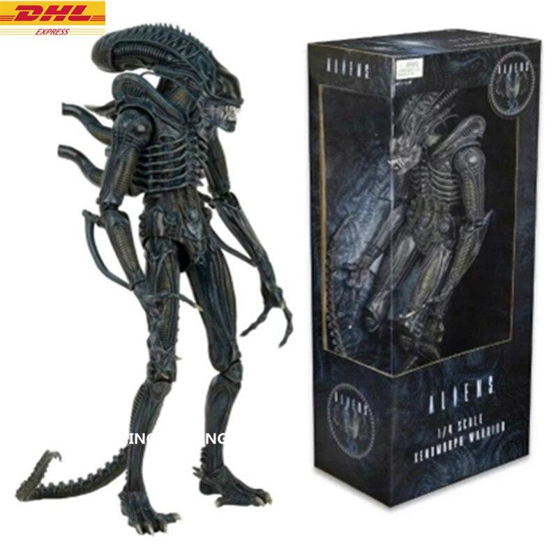 Aliens vs Predator-Requiem Reine Alien Cicatrice Predato Alien 1:4 PVC Action Figure Collection Modèle Jouet D374