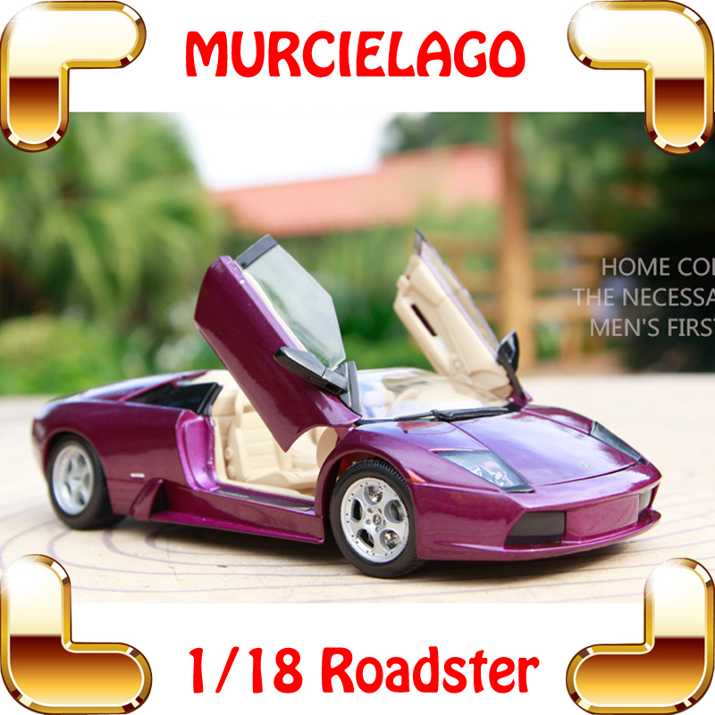 New Arrival Gift Murcielago 1/18 Big Racing Model Car Roadster Style Vehicle Metal Alloy Collection Toy For Fans Present цены