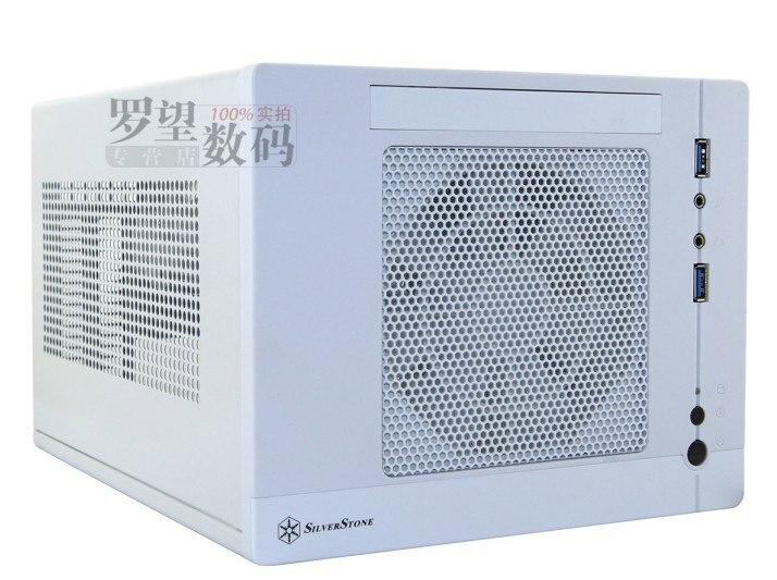 Sst-sg05-lite white black usb3.0 mini itx computer case htpc long graphics card computer case