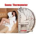 "Sauna thermometer and hygrometer  Original Free shipping Thermometer ""Sauna man"" (WX015)sauna accessories Free shipping"