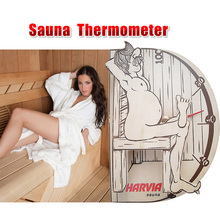 "Sauna thermometer and hygrometer  Original Free shipping Thermometer ""Sauna man"" (WX015)sauna accessories Free shipping"