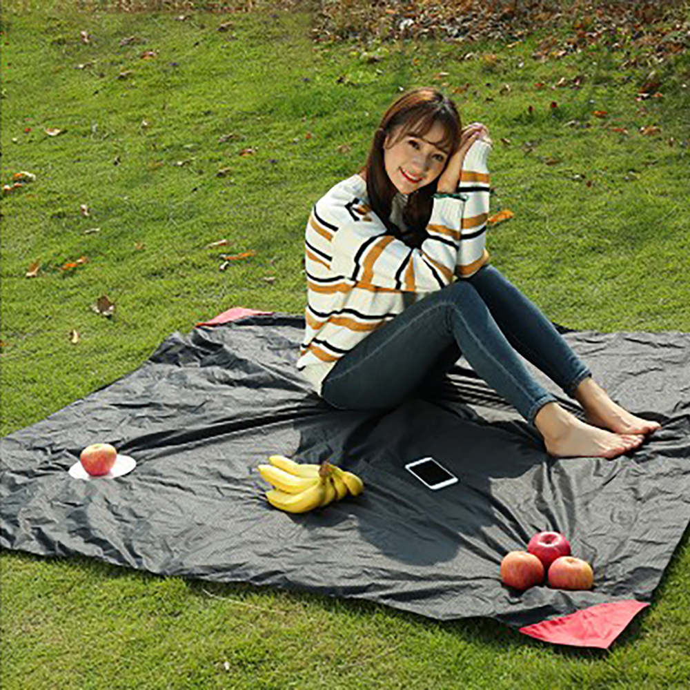 Hiking Yoga and Music Festivals ZGWJ Sand Free Beach Mat Outdoor Picnic Blanket Waterproof Camping Blanket Quick Drying Compact Pocket Blanket for Travel