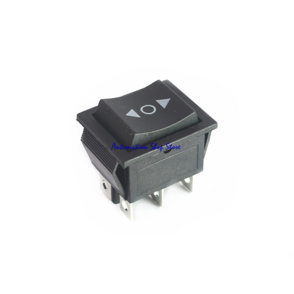 Latching Rocker Switch Power I O 4 Pins With Light 16a 250vac On Off Toggle From A Momentary Using 555 5pcs 6pins Double Sides Spring Return To Middle Dpdt 3position Ac 250v 15a