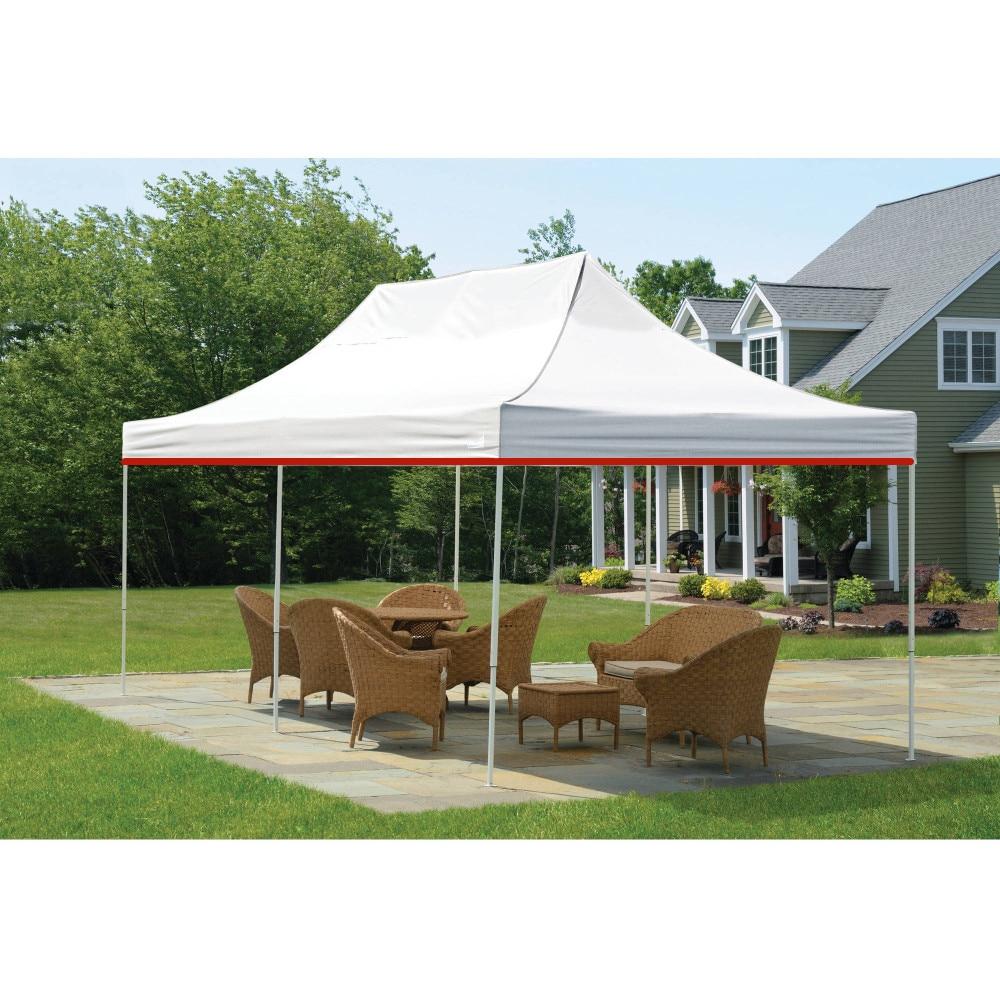White Waterproof Canopy Party Tent Gazebo Roof Garden ...