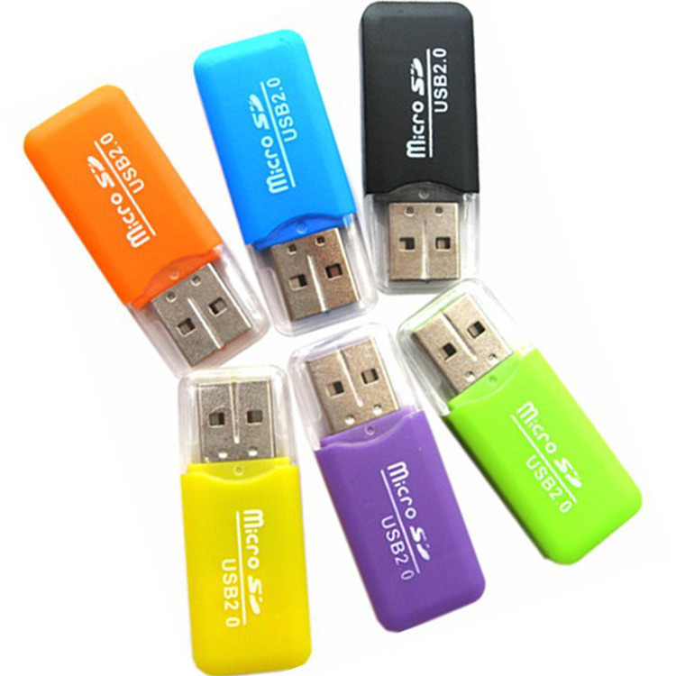 High Speed Mini Usb 2.0 Micro SD TF Memory Card Reader Adapter Ex-factory Price New Arrival