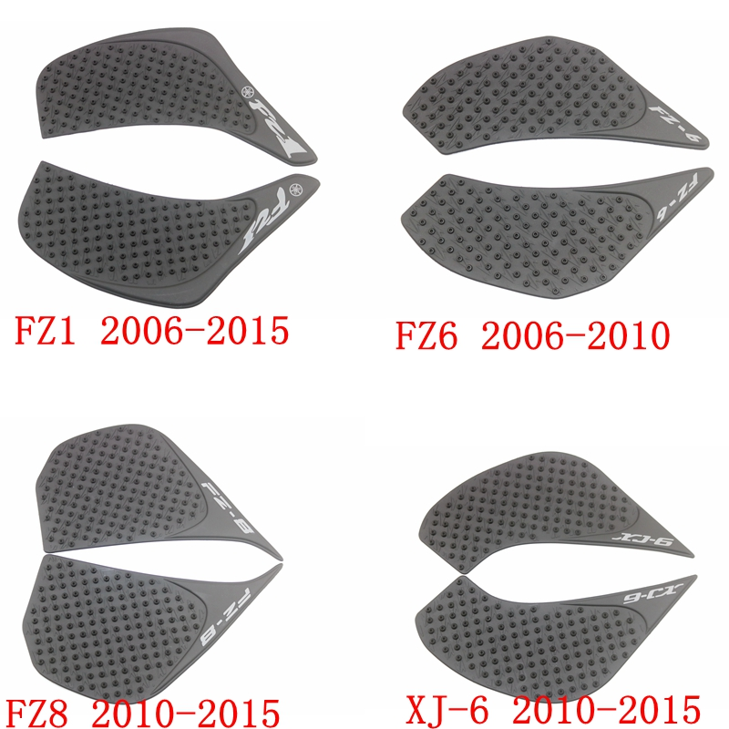 Motorcycle Tank Traction Pad Side Gas Knee Grip Protector Pad Sticker For Yamaha Xj 6n 2010 10 Motorbike Accessories