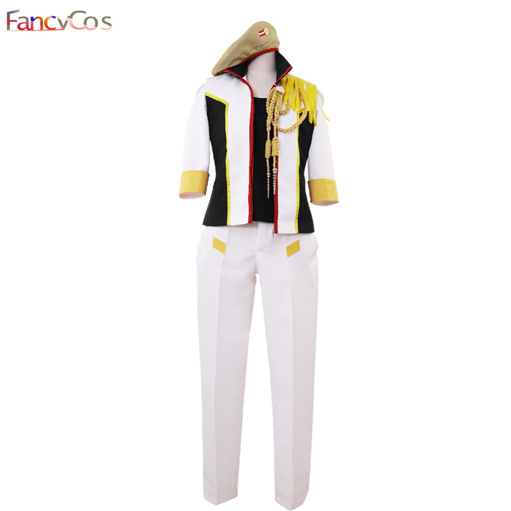 Halloween Uta no Prince-sama Shinomiya Natsuki  Cosplay Costume Adult Deluxe High Quality Custom Made Anime Movie
