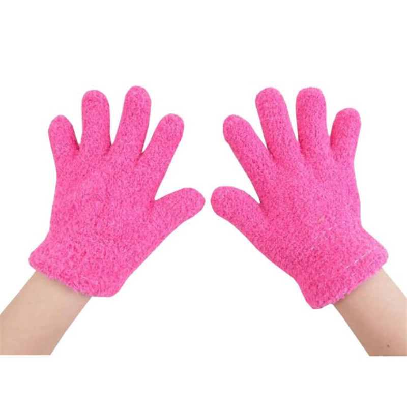 Accessories Gloves & Mittens Responsible Winter Baby Thicken Gloves Full Fingers Boys Girls Mitten Knitting Star Pattern Warm Gloves Infants Mittens With Rope Long Performance Life