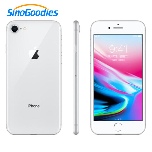Unlocked Apple Used iphone 8 / iphone 8 Plus Smartphone iOS 2GB / 3GB RAM 64/256GB ROM 12MP Fingerprint 2691mAh LTE Mobile Phone