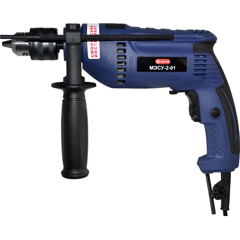 Impact drill Diold МЭСУ-2-01 (speed from 0 to 2500 rpm 0 to 800 beats per minute) electric hammer drill diold прэ 9 power 1500 w speed from 0 to 750 rpm