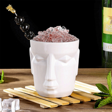 500ml White Hawaii Tiki Mugs Cocktail Cup Beer Beverage Mug Wine Ceramic Easter Islander Bar Tools