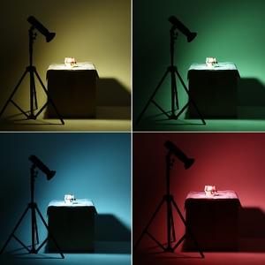 Image 5 - Godox AD M Standart Reflektör ile Güzellik Bulaşık 5 Renk Filtreler Yumuşak Difüzör Godox AD200 AD180 AD360 AD360II Kamera Yanıp Söner
