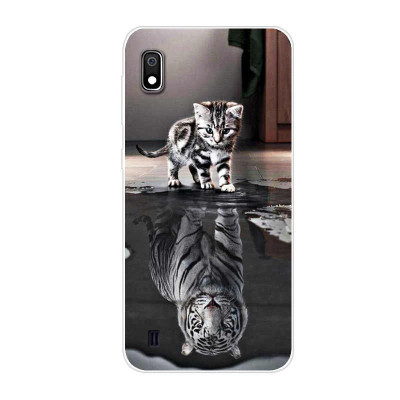 for Samsung A10 Case Cartoon Soft TPU Clear Bumper Coque for Samsung Galaxy A10S A 10 2019 Phone Cases Silicone Back Cover A 10S